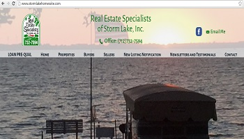 homes for sale storm lake, real estate specialists storm lake