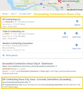 Search Engine Optimization Sioux City